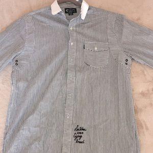 Crooks & Castles long sleeve button down shirt